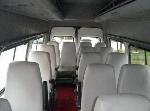 日本語 運転手 12名乗り ミニバス 内装