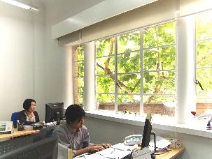 旅悟空 上海本店 オフィス内