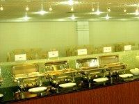 九寨溝 諾日朗レストラン ビュッフェの昼食