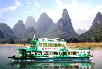 桂林・璃江下りの船