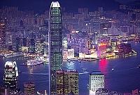 香港・ビクトリアピークからの夜景