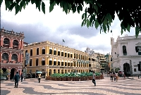 マカオ・セナド広場