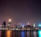 上海100万ドルの 夜景 !ロマンチック 黄浦江 ナイトクルーズ